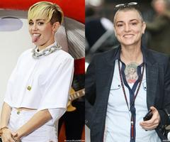 Miley Cyrus: I Don't Know If I'll Make Up With Sinead O'Connor